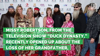 Duck Dynasty Star Opens Up about Emotional Death in the Family - Video