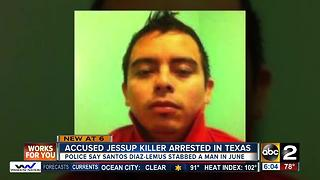 Accused Jessup killer arrested in Texas after a month on the run - Video