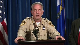 Las Vegas Sheriff Lombardo gives update on autopsy of Stephen Paddock - Video