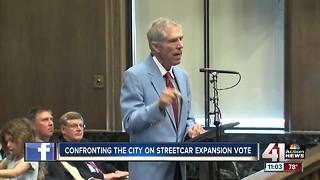 Clay Chastain asks for support for light rail system - Video