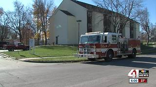 46 tenants relocated after fire at Osawatomie senior living apartments - Video