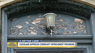 Cleveland approves community improvement projects