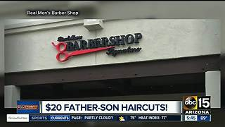 Save money on men's haircut in Scottsdale - Video