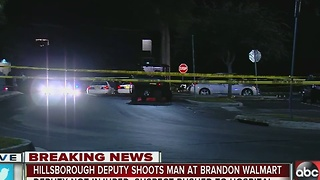 HCSO responds to deputy-involved shooting in Brandon