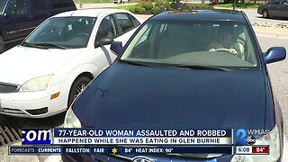 77-year old woman assaulted and robbed