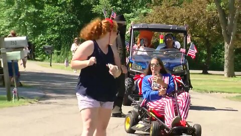 Grand Island residents host their own Fourth of July parade