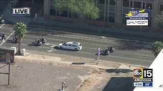 Procession held for fallen Phoenix officer Paul Rutherford