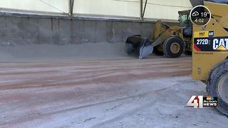 Snow removal company hopes for boost in business - Video