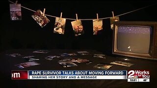 Abuse survivor talks about moving forward