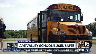 Are Valley school buses safe? - Video