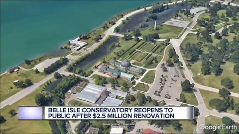 Belle Isle conservatory reopening after $2.5M renovation