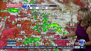 Cooler day will see rain, storms in the afternoon - Video