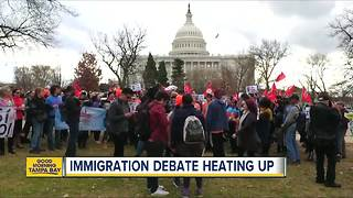 Immigration debate heating up - Video