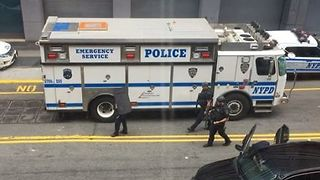 Police on Scene After 50-Year-Old Man Shot Near Barclays Center - Video