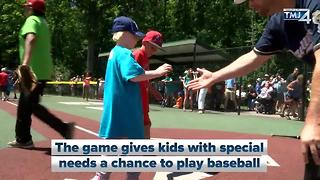 Brewers join Miracle League All Star Game - Video
