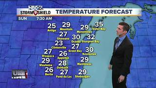Freezing temperatures tonight - Video