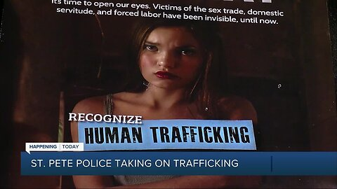St. Pete Police to reveal new human trafficking task force