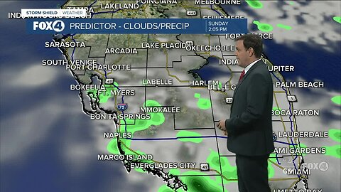 Forecast: Sunday will stay warm with highs in the 80s