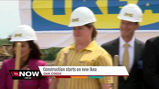 Oak Creek officials break ground on IKEA - Video