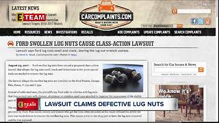 Lawsuit claims defective lug nuts on Ford cars - Video