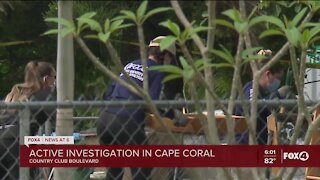 Active police investigation at a Cape Coral home
