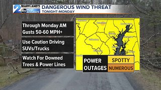 High Winds To Start The Workweek
