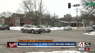 Finding solutions as more people become homeless