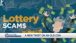 Local victims hit by Facebook lottery scam - Video