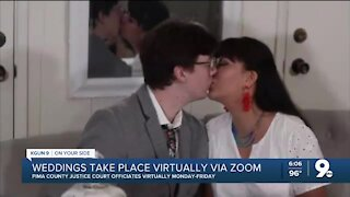Zoom weddings become the new normal