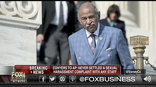 Rep. John Conyers Denies Sexual Harassment Settlement - Video