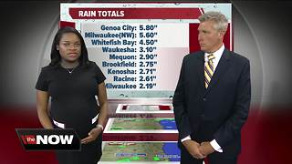 Geeking Out: Rain totals after Monday storms - Video