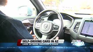 Self-driving cars in Arizona - Video