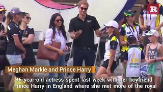Reports say Prince Harry took Meghan Markle to private tea with the Queen | Rare People - Video