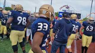 Fists Fly After NYPD-FDNY Charity Football Game - Video