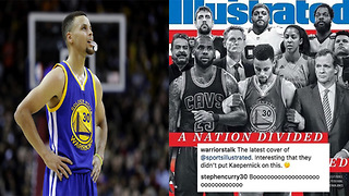 Steph Curry BLASTS Sports Illustrated for Leaving Colin Kaepernick Off the Cover - Video