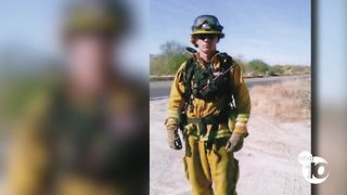 Report: San Diego firefighter was trapped by Thomas Fire flames - Video