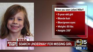 Search continues for missing 8-year-old in Mesa - Video