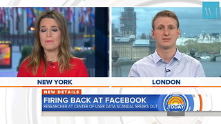 User Data Sharing Was 'Normal' at Facebook Cambridge Analytica Researcher