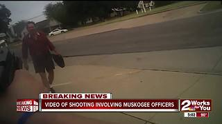 Muskogee police release video of officer-involved shooting - Video