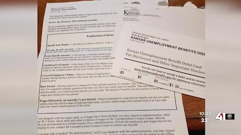Kansas Department of Labor at odds with auditors over fraudulent pay-out amounts