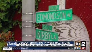 2 Killed in Baltimore overnight, including an apartment security guard - Video