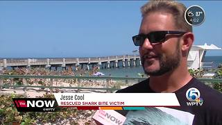 Lake Worth shark victim recovering - Video