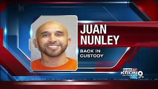 Inmate walks away from work crew in Safford, found - Video