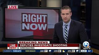 Shooting investigated in Greenacres - Video