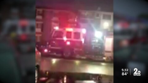 Lighting strike causes apartment fire, leaving dozens without home