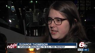 Local students heading to Washington D.C. for March For Our Lives protest - Video