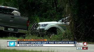 Deputies conduct manhunt in Golden Gate Estates - Video