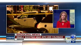 Police investigating deadly shooting in Denver