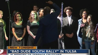 Bad Dude Youth Rally held in Tulsa - Video