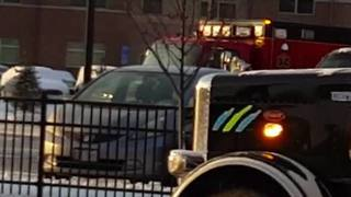 North Olmsted Bus Fire - Video